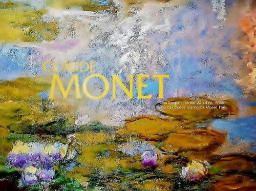 Plakat-Monet Ausstellung