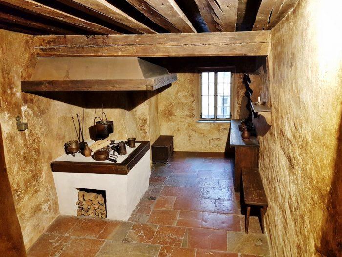 alte Küche Familie Mozart
