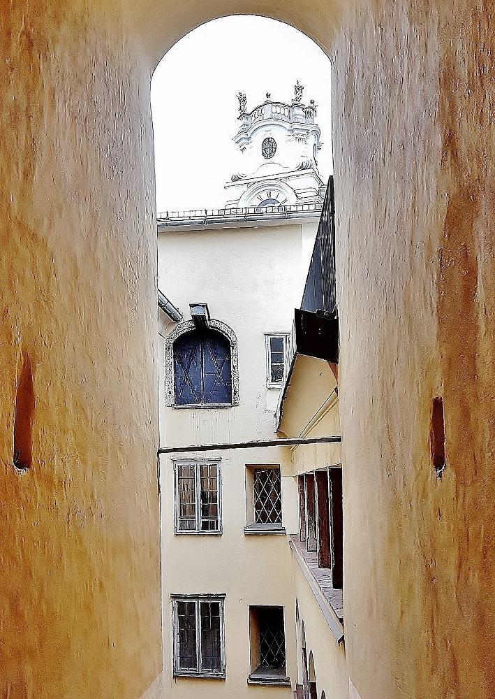 Blick ins Innere Mozart Geburtshaus, Mozart Sehenswürdigkeiten