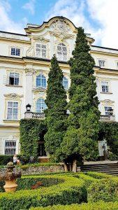 Schloss Leopoldskron Salzburg mit Park