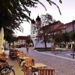Burg Trencin und Stadt