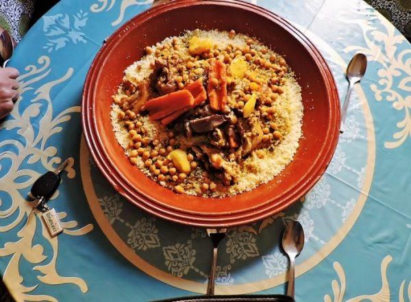 Tajine, ein typische Speisen in Marokko