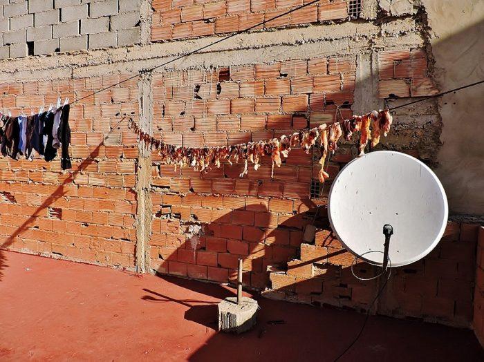 Fleisch-Trockung auf dem Dach, Marokkanische Küche - Genussführer