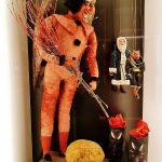 rote Krampus-Figur aus dem Weihnachtsmuseum Salzburg