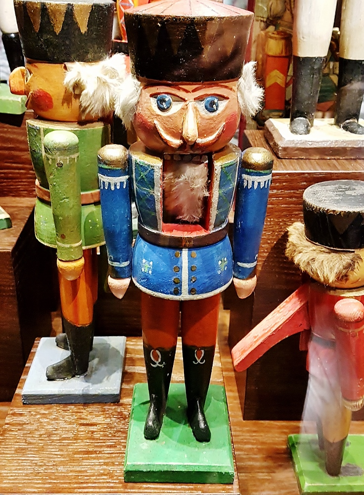 Nussknacker-Figur im Weihnachtsmuseum Salzburg