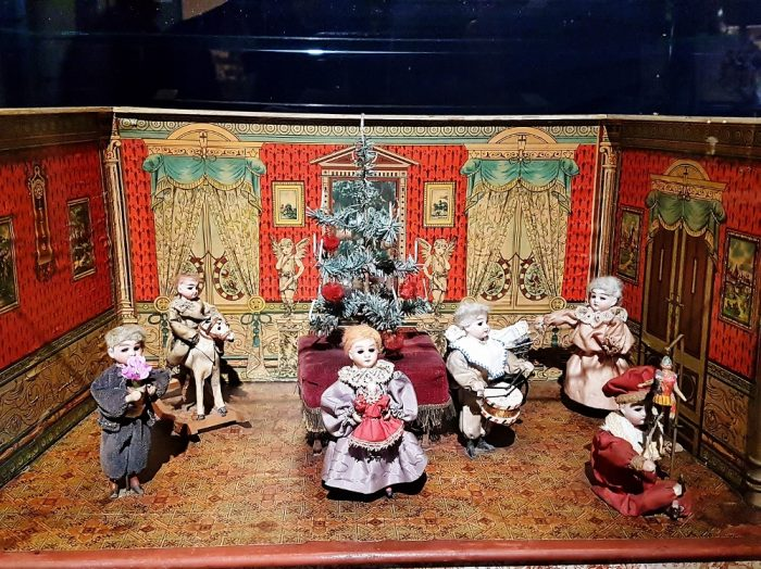 mechanisches Spielwerk aus dem Weihnachtsmuseum Salzburg