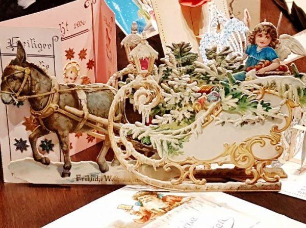 Weihnachtskarte aus dem Weihnachtsmuseum Salzburg