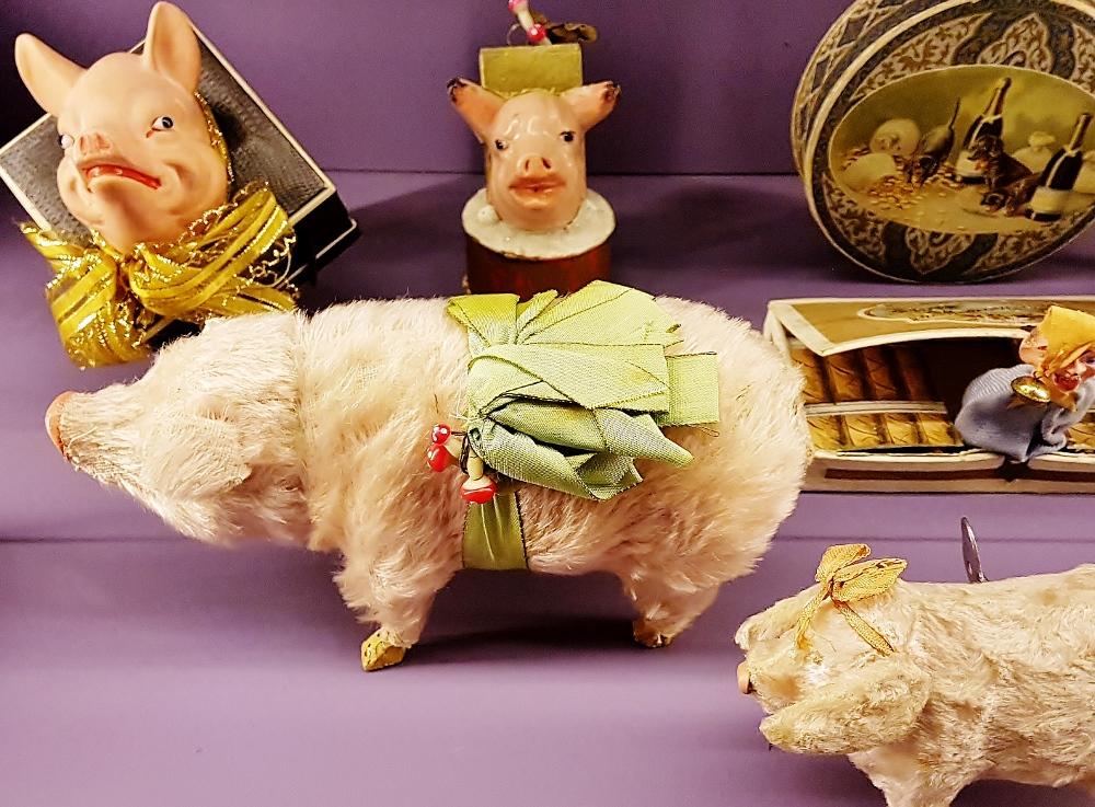Glücksschweinchen für Neujahr