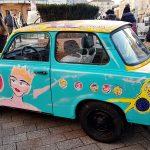 buntes Auto in Kulturhauptstadt Plovdiv