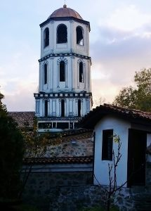 Turm in der Plovdiv, Stadt mit Flair