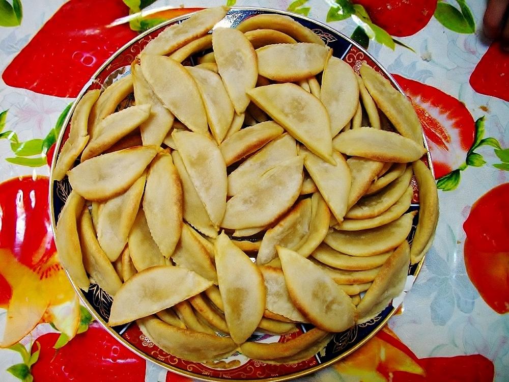 Gazellenhörnchen aus der Marokkanische Küche, kulinarische Genüsse