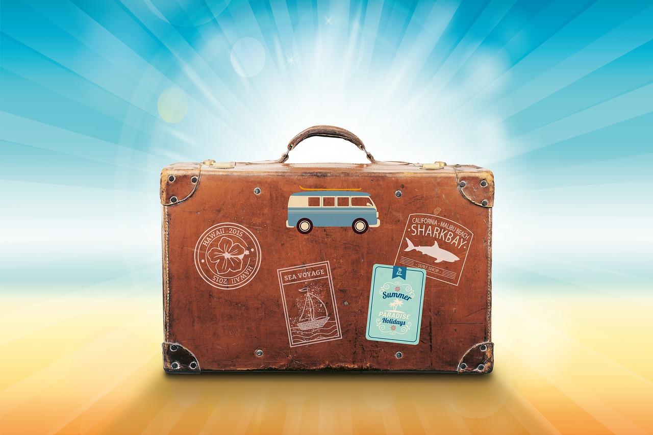 Reisekoffer für Fenstertage 2019