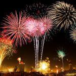 Silvester in Wien-Feuerwerk