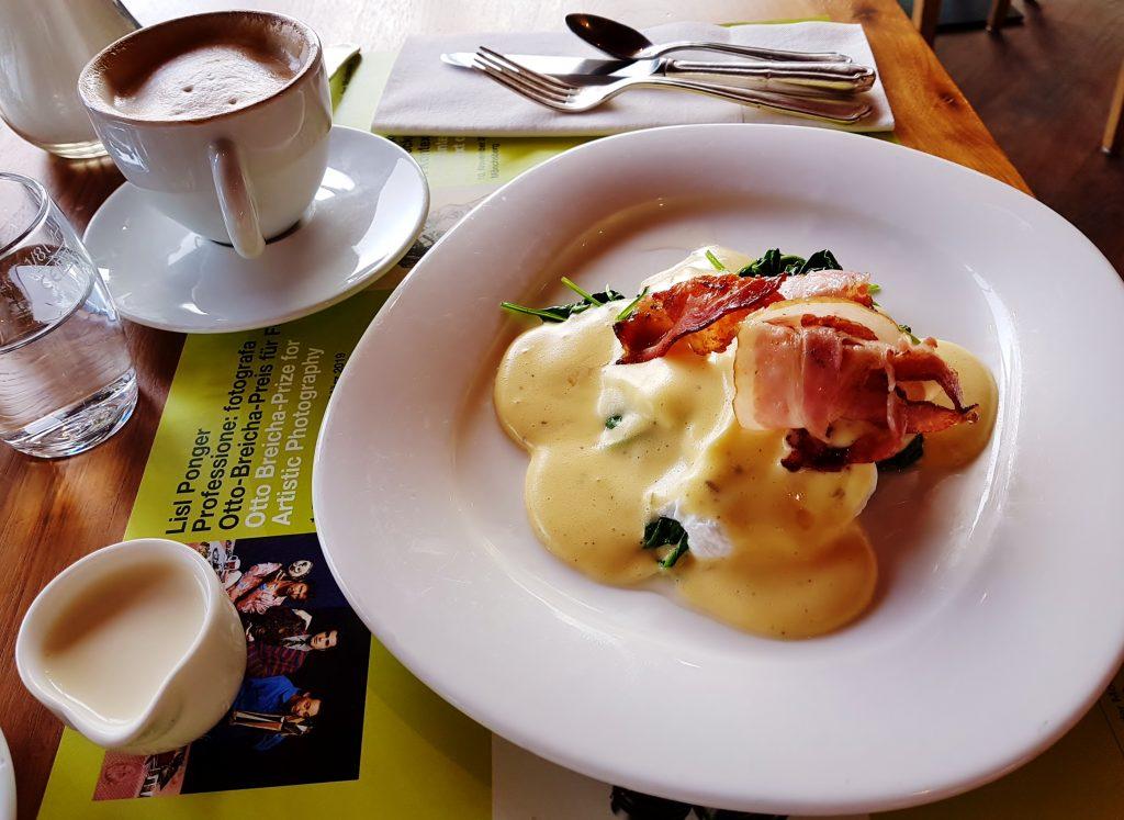 Eigericht und Kaffee, Frühstücken am Mönchsberg Salzburg
