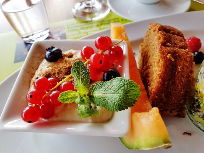 vitales Frühstück am Mönchsberg Restaurant