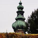 Zwiebelturm einer Kirche