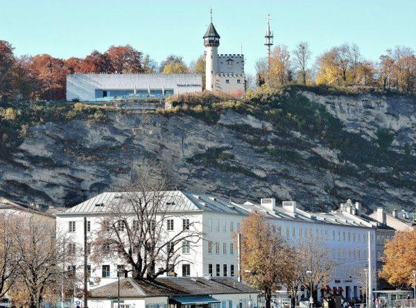Ausblick auf Stadtberg, Mönchsberg Salzburg