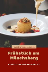 Frühstücken am Mönchsberg im M32 in Salzburg