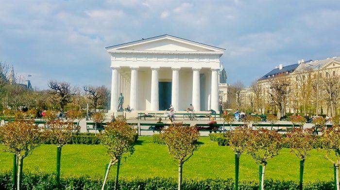 Wien Ausflugsziele kostenlos im Volksgarten