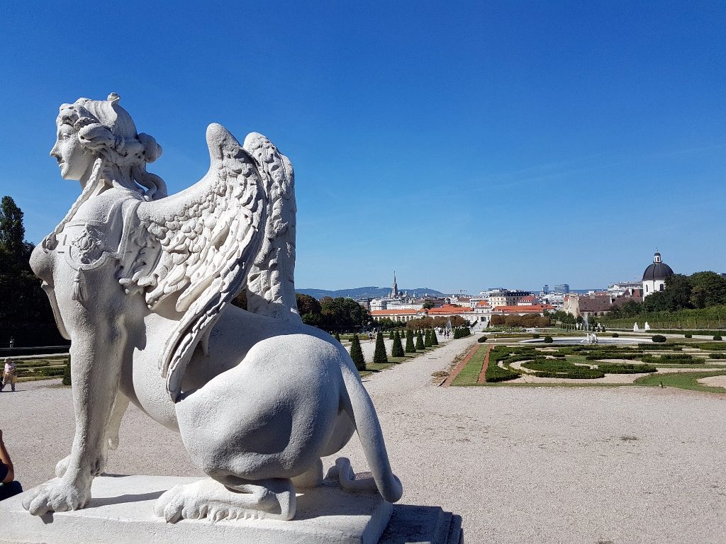 Wien Ausflugsziele kostenlos zu Sphinx Belvedere