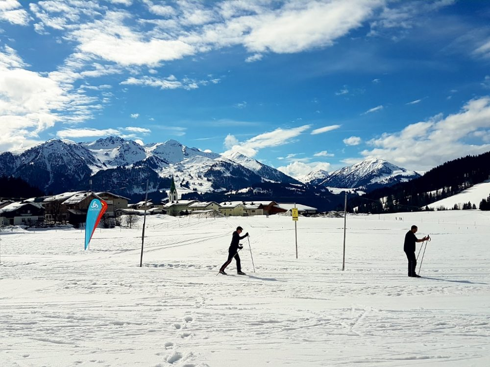 Langlaufen und Gäste Biathlon in Hochfilzen