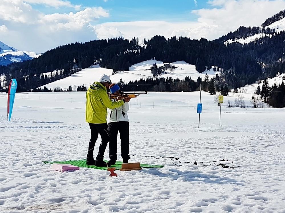 Gäste Biathlon in Hochfilzen