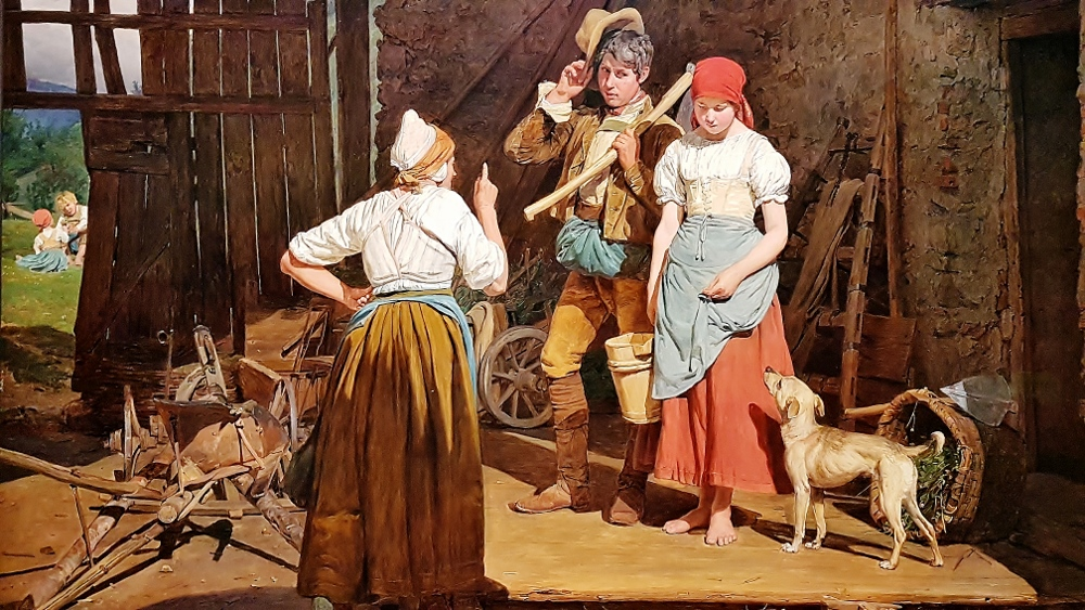 Gemälde aus Ausstellung Von Rubens bis Makart