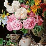 Gemälde mit Blumen, Rubens bis Makart Ausstellung