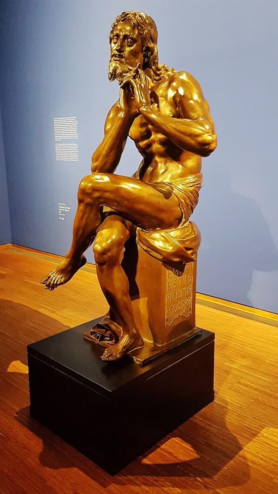 """Statue aus """"Rubens bis Makart"""" Ausstellung"""