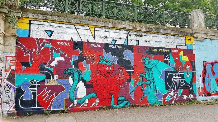 Street Art Donaukanal Mural