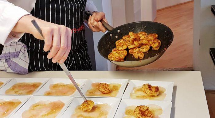 Garnelen Thai Art kochen