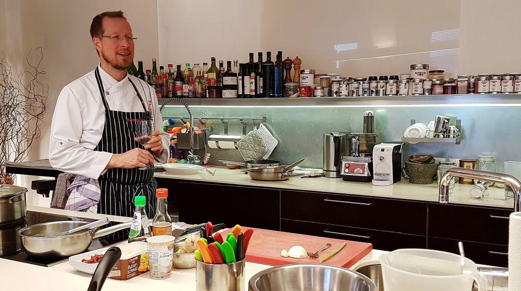 Kochkurs bei Thomas Hüttl in Wien