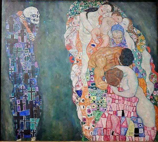 Gemälde Gustav Klimt, Leopold Museum Wien Kunst um 1900
