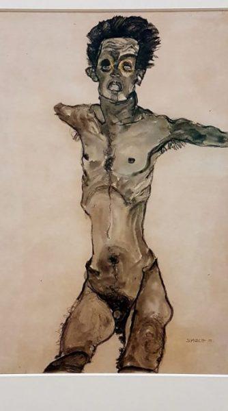 Schiele Gemälde im Leopold Museum Wien