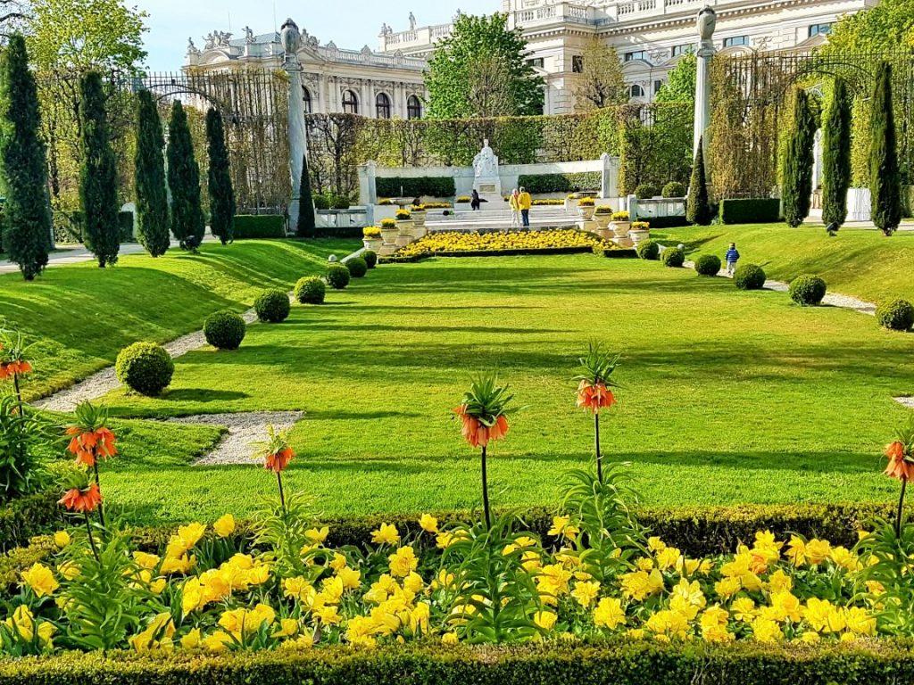 Ausflugsziele Wien, der Volksgarten