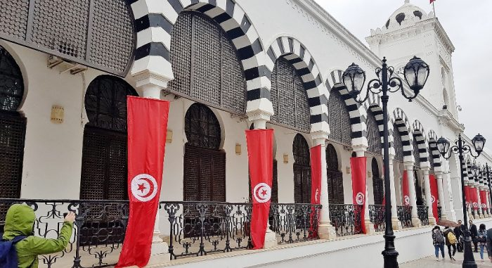Place de la Kasbah in Tunis