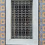 orientalisches vergittertes Fenster
