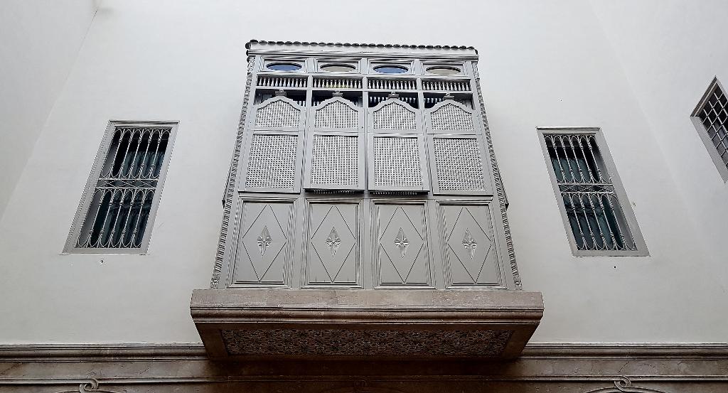 tunesische Architektur, Erker am Haus