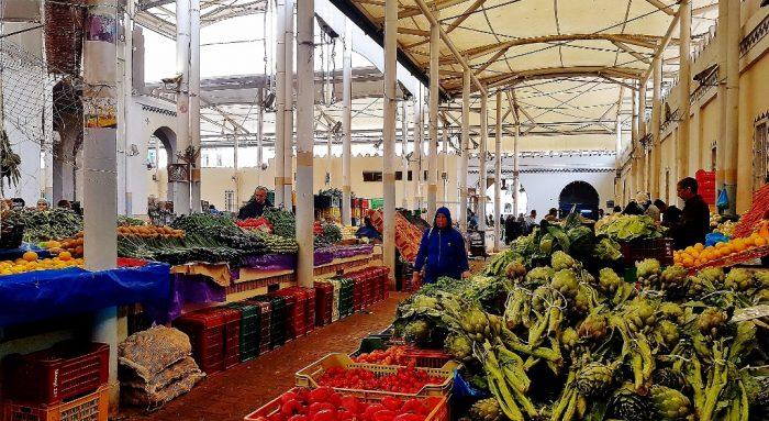 Markthalle, Tunis Sehenswürdigkeiten Kulturhauptstadt