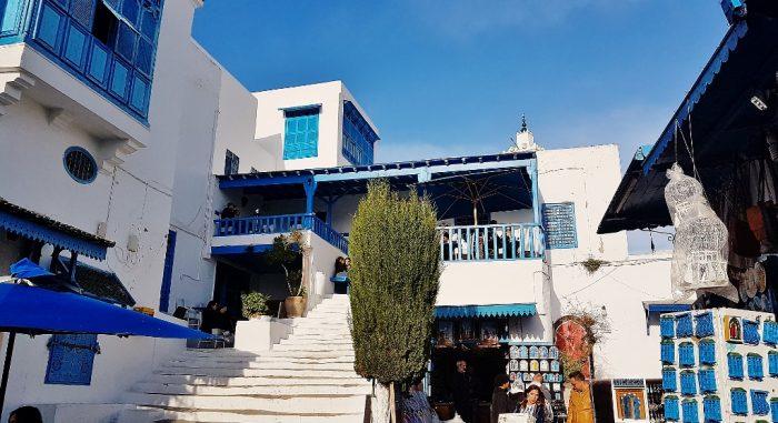 Sidi Bou Said in Tunesien