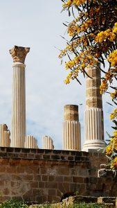 römische Säulen, Tunis Ausflugsziele