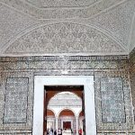 Raum komplett mit Mosaiken in Tunis Bardo Museum
