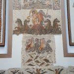 antikes Mosaik im Bardo Museum Tunis