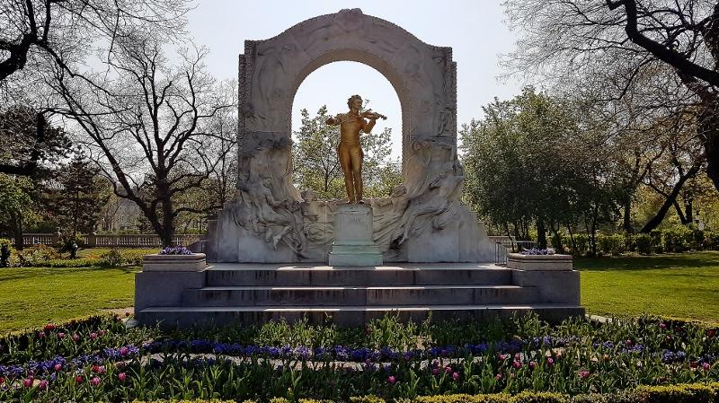 Stadtpark Wien Joh. Strauss Denkmal