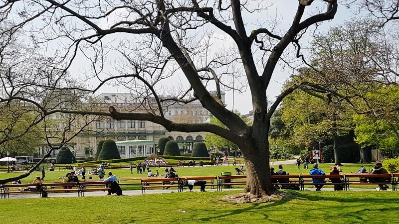 Frühling im Stadtpark Wien