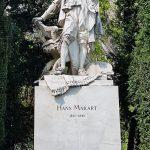 Künstler Denkmal in Wien