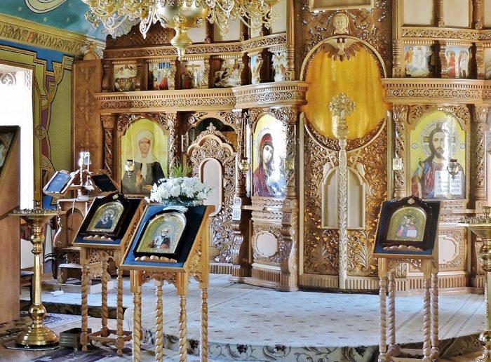 orthodoxe Kirche Innenraum
