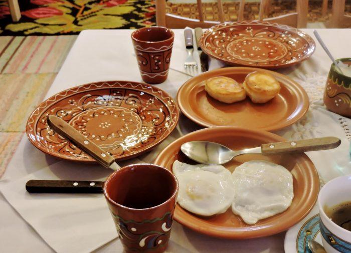 ländliches Frühstück
