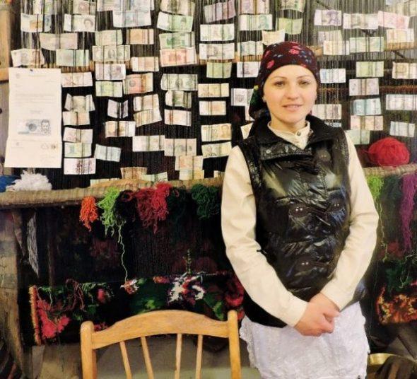 junge moldawische Frau