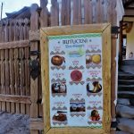 Speisetafel in mmoldawischem Dorf